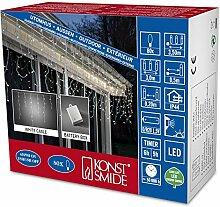 Konstsmide 3739-102 LED Eisregen Lichtervorhang  /