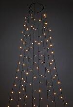 KONSTSMIDE LED-Lichterkette Baummantel mit Ring