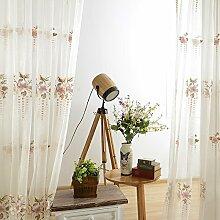 """Kontinentales luxuriöses Jacquard Wohnzimmer Fenster , 50W x 96""""""""L"""