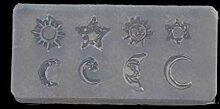 Koobysix Silikonform Gießformen, Mini Größe
