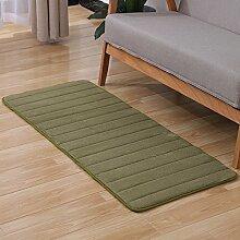 KOOCO 1 Stück Memory Material Teppich für