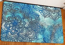 KOOCO Classic Farbe Soft Anti-Skid Teppich Mandala