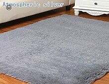 KOOCO Große Flokati Teppich Shaggy Seatpad Yoga