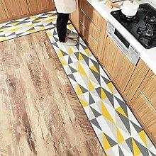 KOOCO Langer Küchenteppich für Wohnzimmer, Flur,
