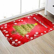 KOOCO Saugfähige Fußmatte Matte Teppich