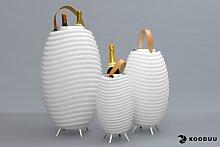 kooduu LED Stehlampe Synergy S, 1 St., Warmweiß,