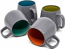 Kook Soho Kaffeebecher, Keramik, mikrowellen- und