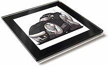 Koolart Cartoon Auto Chevrolet Corvette C3