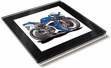 Koolart Karton Motorrad Suzuki Gsxr Glas Tisch