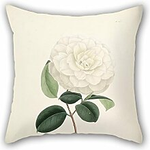 KooNicee Flower Pillow Shams Best For Kids Bf Drawing Room Adults Dining Room Floor 16 X 16 Inches / 40 By 40 Cm(twin Sides)
