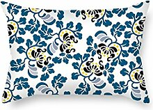 KooNicee Flower Pillowcover ,best For Girls,outdoor,kids,deck Chair,home Office,shop 16 X 24 Inches / 40 By 60 Cm(both Sides)