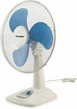 Kooper 2408562Luft Ventilator Tisch, 45W, 40cm, blau Elektro