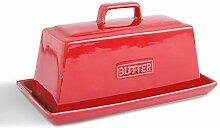Koov Porzellan-Butterdose mit Deckel, perfekt für