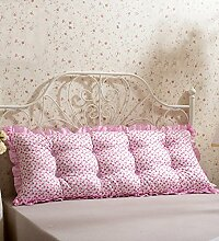 Kopfbrettkissen Baumwolle Bett Kissen Doppelbett Rückenlehne Kissen Bedside Big Headboard Kissen ( Farbe : G , größe : 1.5m )