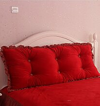 Kopfbrettkissen Baumwolle Bett Kissen Doppelbett Rückenlehne Kissen Bedside Big Headboard Kissen ( Farbe : E , größe : 2M )