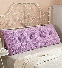 Kopfbrettkissen Baumwolle Bett Kissen Doppelbett Rückenlehne Kissen Bedside Big Headboard Kissen ( Farbe : E , größe : 1.2m )