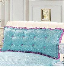 Kopfbrettkissen Baumwolle Bett Kissen Doppelbett Rückenlehne Kissen Bedside Big Headboard Kissen ( Farbe : B , größe : 1.2m )