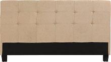 Kopfende Beige für Bett 160 cm MARQUISE