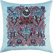 Kopfkissen Heimtextilien Bettwäsche Kissen Kissen Kissen Büro Sofa Taille Totem Kissen Kissen ( Farbe : Blau )