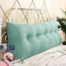 Kopfteil Kissen Bett Rückenkissen Lesen