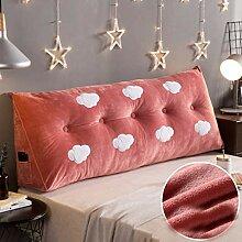 Kopfteilkissen Bedside soft package Crystal Velvet