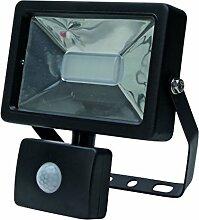 Kopp 216620018 LED Wandfluter mit Bewegungsmelder,