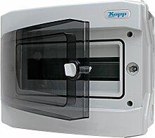 Kopp 353811047 Aufputz-Feuchtraum-Verteiler mit