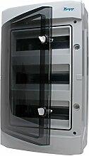 Kopp 353813049 Aufputz-Feuchtraum-Verteiler mit