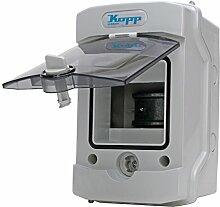 Kopp 353844003 Aufputz-Feuchtraum-Verteiler mit