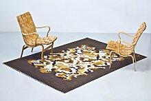 Korall Flachgewebe Teppich von Erik Lundberg für