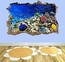 Korallenfisch Ozean Aquarium 3D zerschlagen
