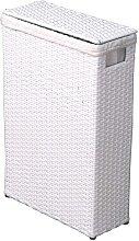 Korb für Wäsche Weiß