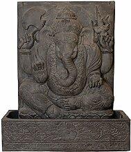 korb.outlet Ganesha Brunnen Wasserlauf Steinguss
