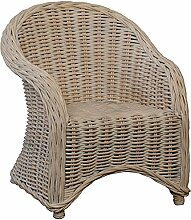 korb.outlet Kinderstuhl, Kindersessel aus Rattan
