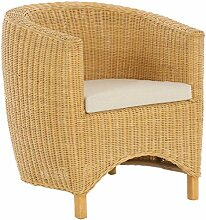 korb.outlet Rattan-Sessel Club/Wohnzimmersessel