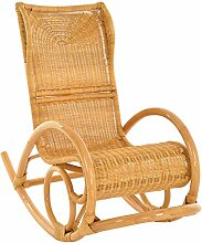 korb.outlet Relaxsessel Schaukelstuhl Luxor aus