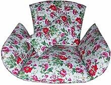 Korb-schaukel-Wiege-Kissen Wiege Peddigrohr Stuhl