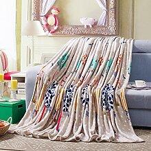 koreanische Stil Einfarbig Gestreift Blumen/Blumen Polyester Sofadecken-C 120x200cm(47x79inch)120x200cm(47x79inch)
