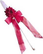 KORGALEY Rosenstab für Frauen, große Schleife,