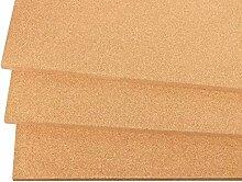 Kork Dämmplatten aus Presskork 900x600 mm, 10mm