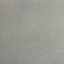 Korkboden Fertigparkett Design strukturiert grau lackiert Klicksystem 10,5mm Ordos CorCasa warmer Kork Bodenbelag Klick