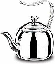 Korkmaz Droppa High-End-Teekanne aus Edelstahl,