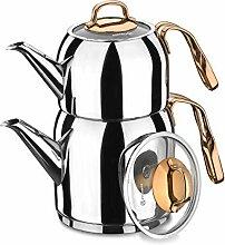 Korkmaz Türkische Teekanne Tea Pot A192 Rosanna