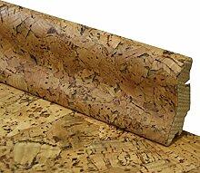 Korksockelleisten Fußleiste aus Echtholz mit