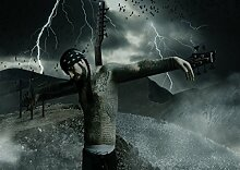 Korn 3 Great Rock Metal-Album Cover, Musik-Band-Motiv mit Bilderrahmen, für A4