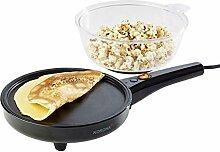 Korona 41050 2 in 1 Popcorn- und Crêpesmaker  
