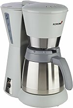 Korona – Kaffeeautomat 10226 I 1 Liter I 8 Tassen I 800 W I Stein-Grau