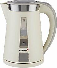 Korona – Wasserkocher 20205 I 1,7 Liter I 360 ° I 2200 W I Sand-Grau