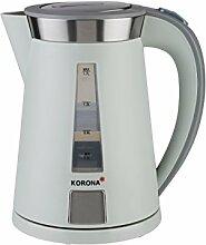 Korona – Wasserkocher 20206 I 1,7 Liter I 360 ° I 2200 W I Stein-Grau