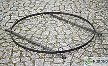 Korono Untergestell Stahl - für Grill Pfannen - auf Feuerschalen Ø 72cm - handgefertig